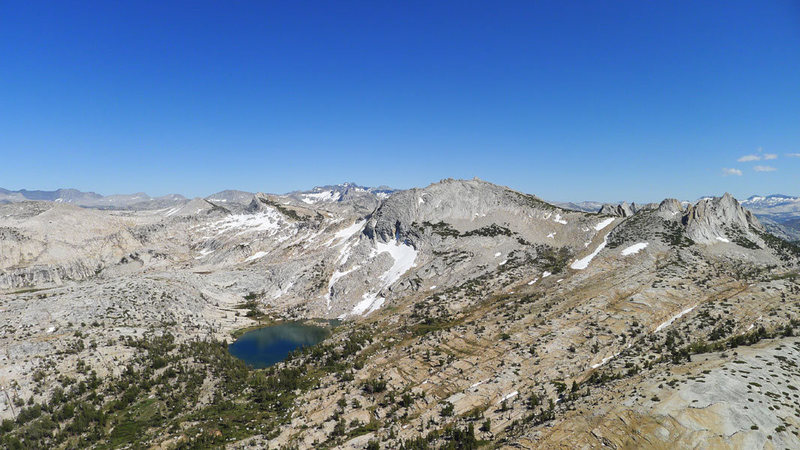 Rock Climbing Photo: (left to right) Cockscomb, Echo Ridge, and  Echo P...