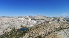 Rock Climbing Photo: (left to right) Cockscomb, Echo Ridge, and  Echo P...