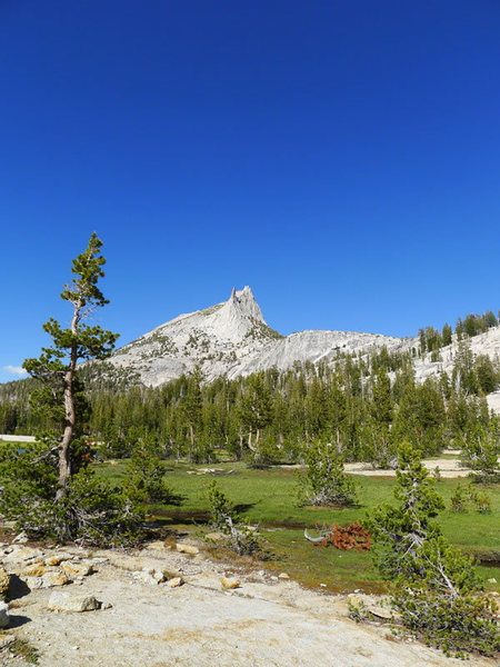 Rock Climbing Photo: looking back toward Cathedral/Eichorn after the sw...