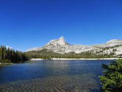 Rock Climbing Photo: Cathedral Peak from Cathedral Lakes