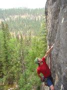Rock Climbing Photo: Kyle on Paternity Test, 5.11a