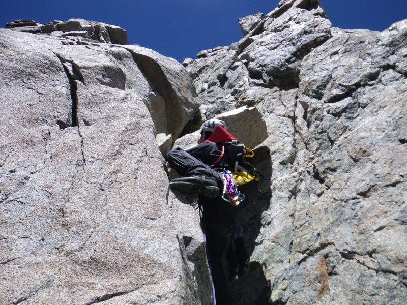 Rock Climbing Photo: Big boot bouldering