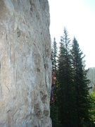 Rock Climbing Photo: Mister Fister, 5.11a Dark Side, Spearfish Canyon.