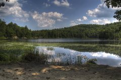 Rock Climbing Photo: The view from the Round Pond parking area (aka whe...