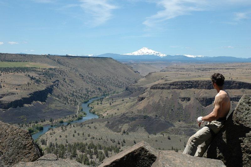 Rock Climbing Photo: Regarding (Jefferson...)