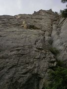 Rock Climbing Photo: Hummingbird is the corner system on the right....