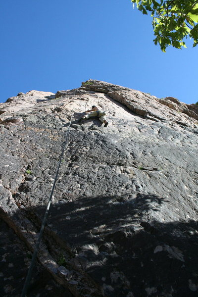 Rock Climbing Photo: thinness