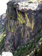 Rock Climbing Photo: 7. Side Effects  5.13a  15 m Climb the slightly ov...
