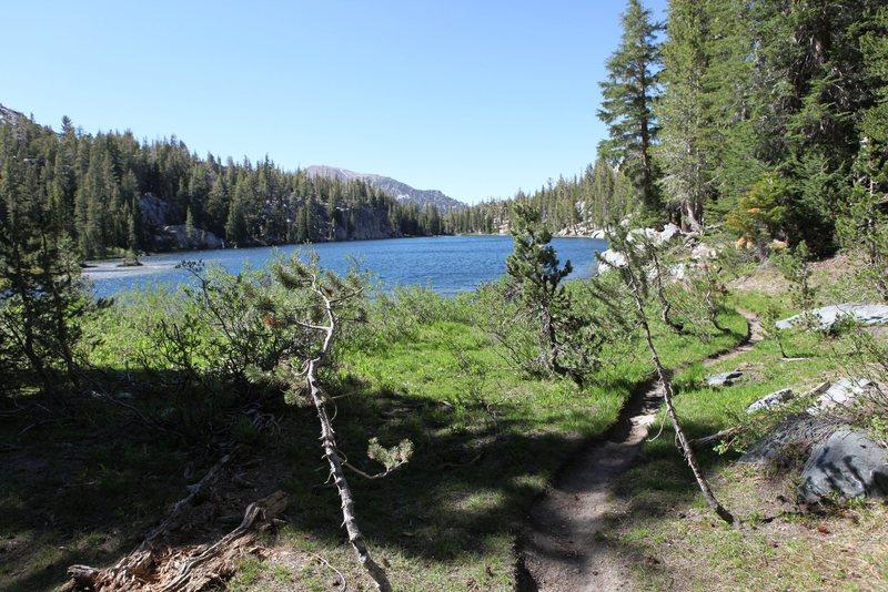 TJ Lake from the Medicine Boulder
