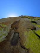 Rock Climbing Photo: P2 of the Don Juan Wall.   Photo: Corey Gargano