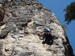 Rock Climbing Photo: Party Foul, Sunshine, Spearfish Canyon