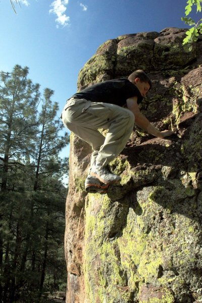 Rock Climbing Photo: My first bouldering trip in the Magdalenas