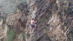 Rock Climbing Photo: Noah Monagle on Love Handles--photo by Zack Kane.