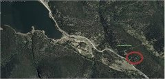 Rock Climbing Photo: Firewalker Boulders with relation to Lake Wellingt...
