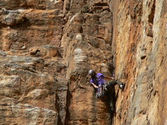 Rock Climbing Photo: p2 Hard to Swallow