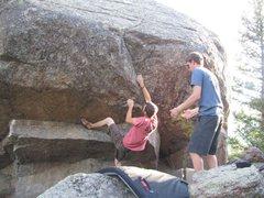 Rock Climbing Photo: Jake McKean on Abinadi.3.