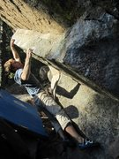 Rock Climbing Photo: Great shot of Alex on an Abinadi extension. Worth ...