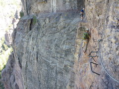 Rock Climbing Photo: Telluride Via Ferrata