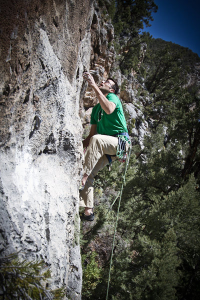 Rock Climbing Photo: Freeflying is Neither 5.8