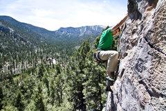 Rock Climbing Photo: Low Pull