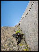 Rock Climbing Photo: The classic triple crack pitch