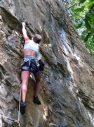 Rock Climbing Photo: kings bluff