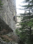 Rock Climbing Photo: Unknown climb in Needles