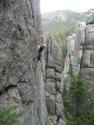 Rock Climbing Photo: Unknown climb in The Needles