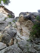 Rock Climbing Photo: Susi's Garden: New route in White House Wall, in E...