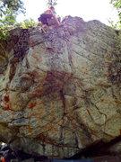 Rock Climbing Photo: Toppin' 'er out!
