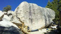 Rock Climbing Photo: Green Tea Boulder