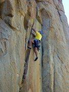 Rock Climbing Photo: Leading Castle Crack.  Photos by Lauren.  1 Jul 20...