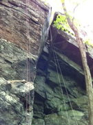 Rock Climbing Photo: the obvious chimney in the center. fun 5.6ish lead...