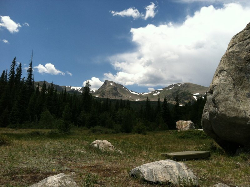 Boulder and Sawtooth