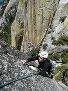 Rock Climbing Photo: Rob Beno on Black Rabbit 5.10a
