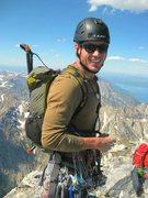 Rock Climbing Photo: On the top of Grand Teton.