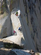 Rock Climbing Photo: Richard Shore, Mark Collar, and Adrienne Kentner f...