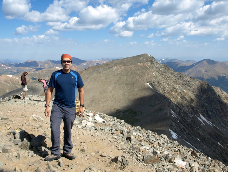 Rock Climbing Photo: Grays Peak summit