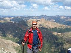 Rock Climbing Photo: Torreys Peak