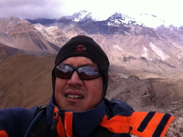 Rock Climbing Photo: Cuerno Seco, Andes.