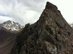 Rock Climbing Photo: Cuerno Seco, 13188 f