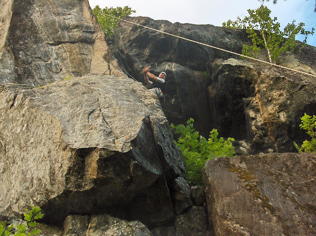 Rock Climbing Photo: 5 years ago I pulled off the critical clipping hol...