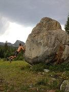 Rock Climbing Photo: The dynamic beta.