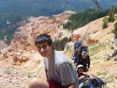 Rock Climbing Photo: Near Wheeler Peak