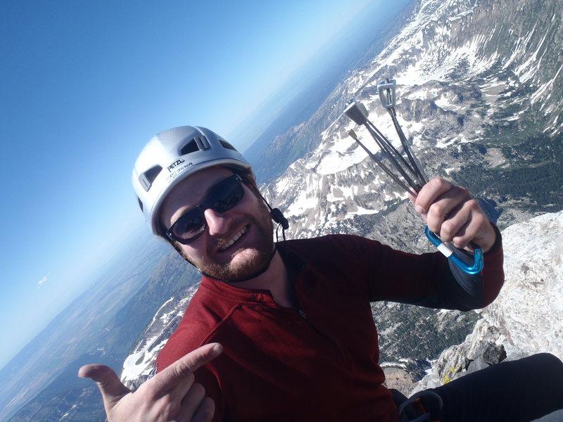 Top of the Grand Teton