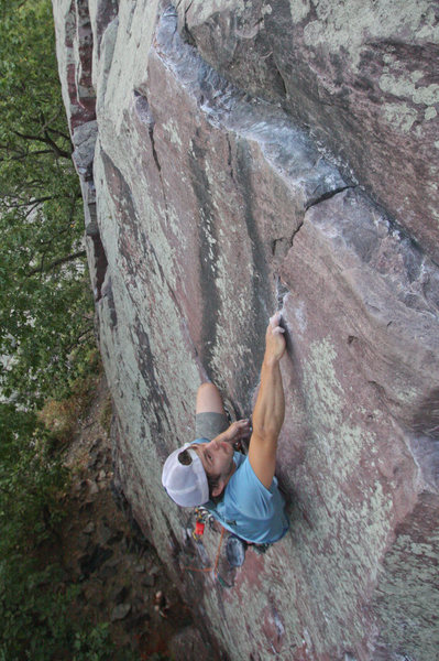 Rock Climbing Photo: Ryan on Cheetah.