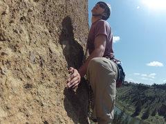 Rock Climbing Photo: Hand Foot Match