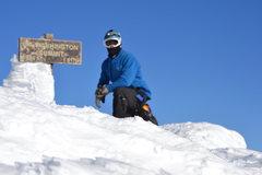 Rock Climbing Photo: Solo single day winter Presi-Traverse