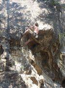 Rock Climbing Photo: Ben Lane on Dink.  Photo by Janna Bragan.