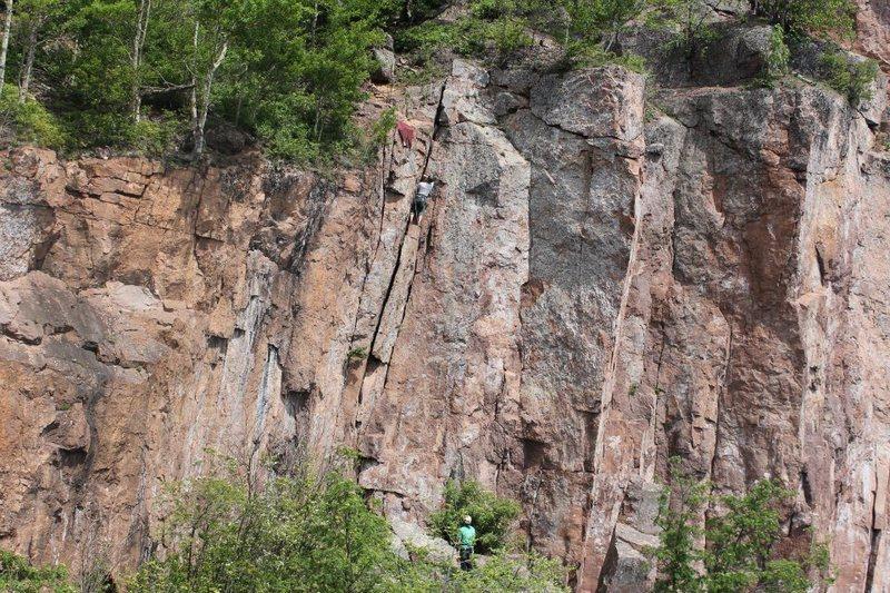 Rock Climbing Photo: KGB